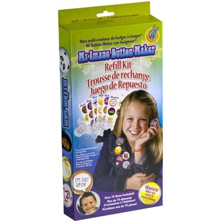 My Image Button Maker Refill Kit-