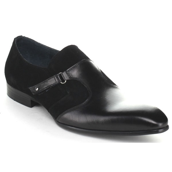 Unique Men's Buckled Loafer Shoes