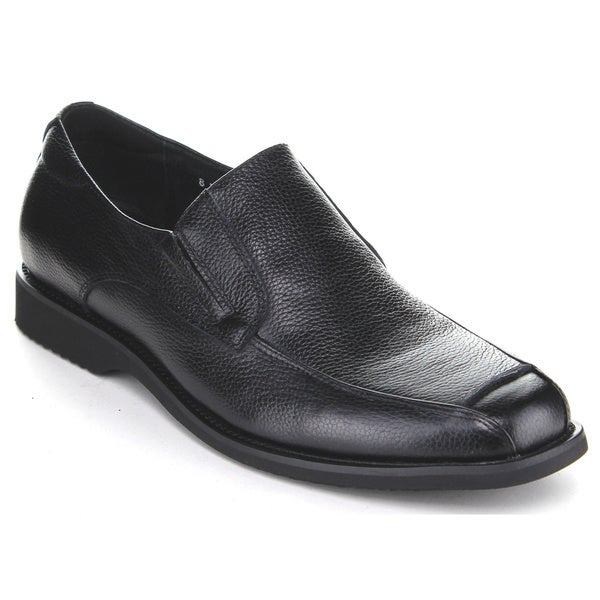 Exchange Men's Black Slip-On Loafer Shoes