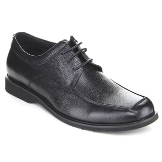 Exchange Z2804 Men's Slip-On Lace-Up Oxford Dress Shoes