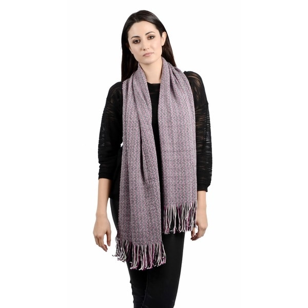Missoni Micro-pattern Striped Wool-blend Scarf