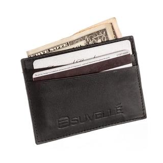 Suvelle Genuine Leather Super Slim Card Case
