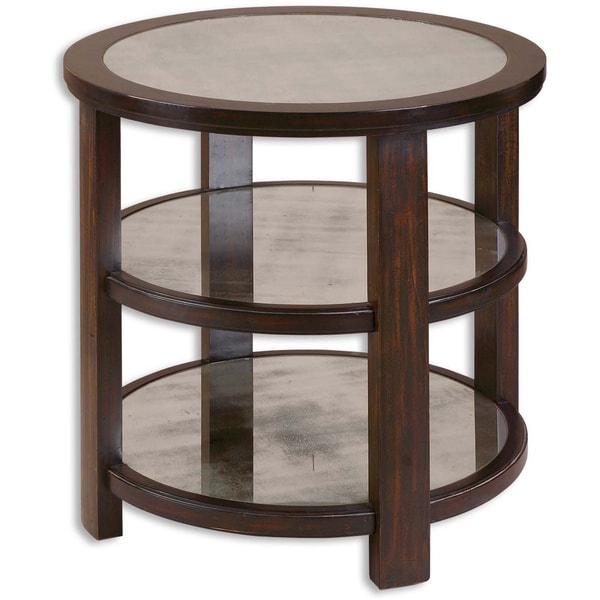 Uttermost Monteith Mirrored Lamp Table