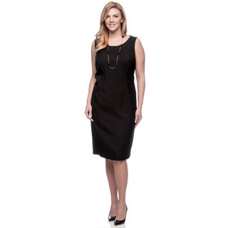 Kasper Plus Size Melange Sheath Dress