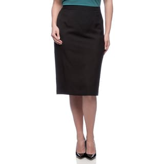 Kasper Women's Plus Size Melange Slim Skirt