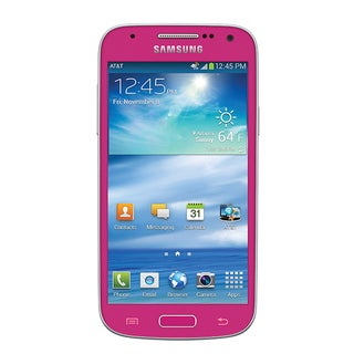 Samsung Galaxy S4 Mini SGH-i257 Pink 16GB Unlocked AT&T 4G Android Smartphone (Refurbished)