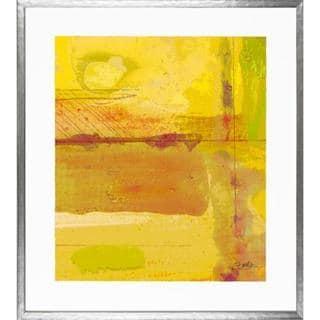 Aerial Abstract Framed Art Print