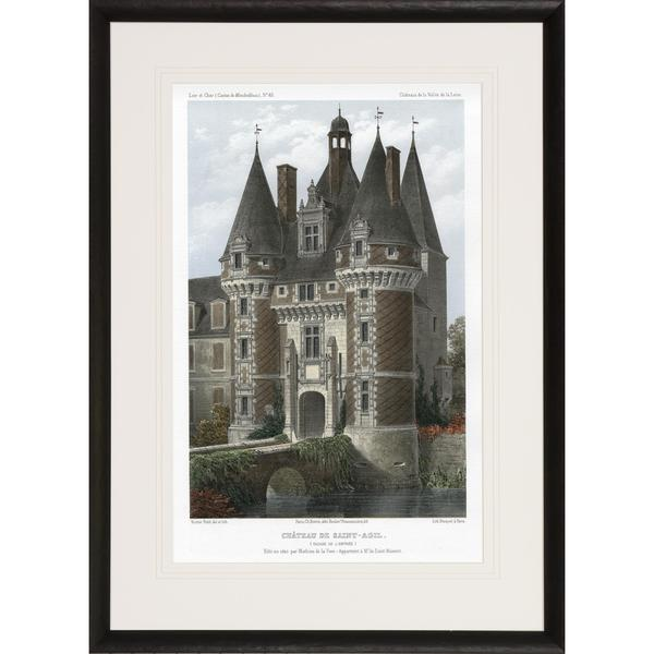 Chateaux of the Loire Castle Valley Framed Art Print
