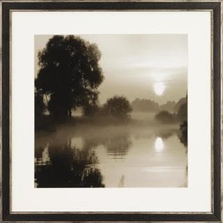 Reflections in the Sun Framed Art Print