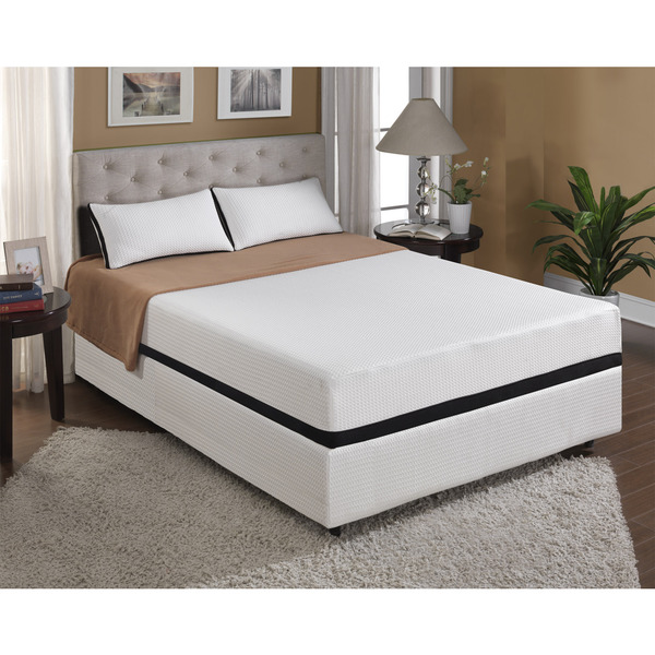 Cool Jewel Starlight 10-inch Twin XL-size Gel Memory Foam Mattress