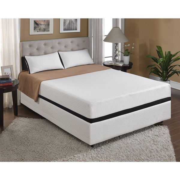 Cool Jewel Starlight 10-inch Queen-size Gel Memory Foam Mattress