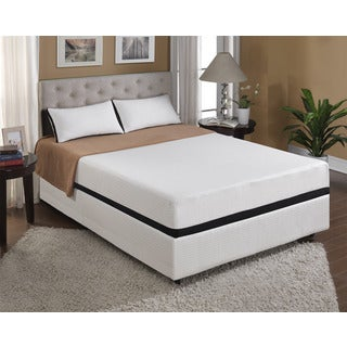 Emerald Cool Jewel Starlight 10-inch Queen-size Gel Memory Foam Mattress