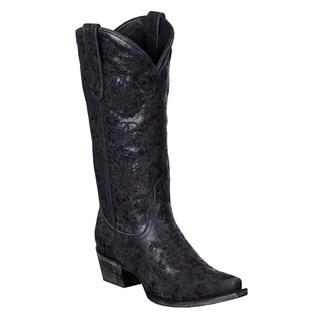 Lane Boots Women's 'Lane Emb' Cowboy Boots