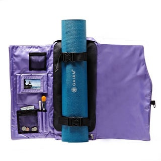 Yoga Sak Purple Heart Yoga Backpack