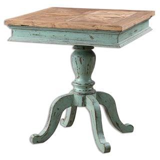 Uttermost Keyton Pedestal Accent Table