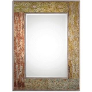 Romy Rust Bevelled Mirror