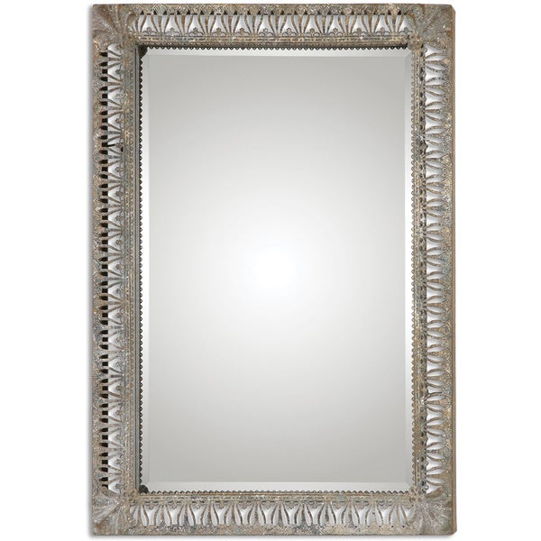 Uttermost Grosseto Distressed Metal Decorative Mirror