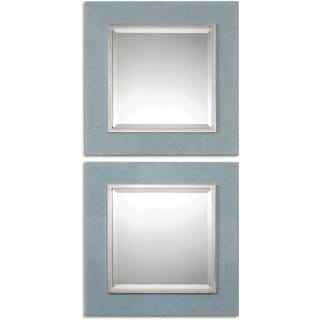 Uttermost Tory Denim Square Wall Mirrors (Set of 2)