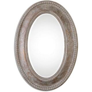 Uttermost Cibiana Oval Metal Decorative Wall Mirror