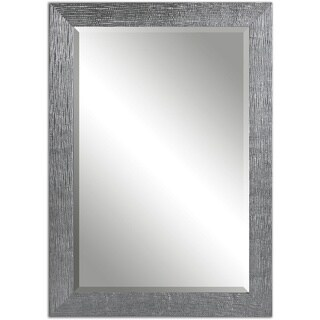 Tarek Silver Bevelled Mirror