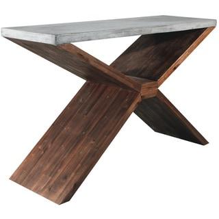 Sunpan Vixen Brown Console Table