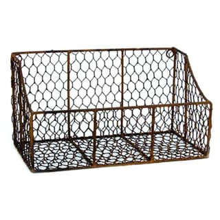 12-inch Chicken Wire Bin (Pack of 2)