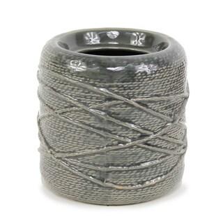 Ceramic 5.71-inch x 5.71-inch x 5.51-inch Pot Round