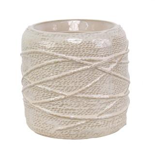 5.71-inch x 5.71-inch x 5.51-inch Ceramic Pot Round