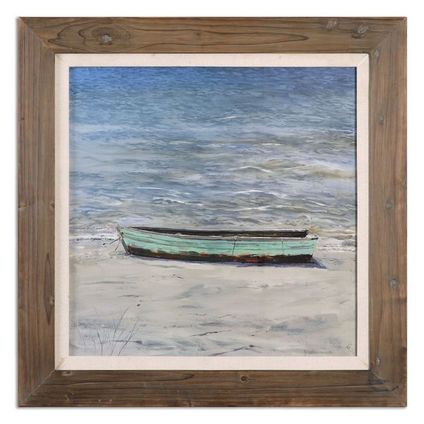 Uttermost Grace Feyock 'Das Boot' Framed Canvas Nautical Wall Art