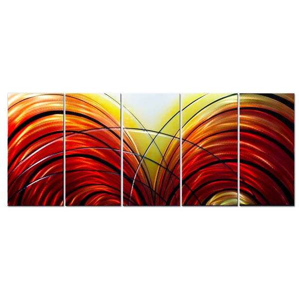 'Fahrenheit 451' Metal Wall Art