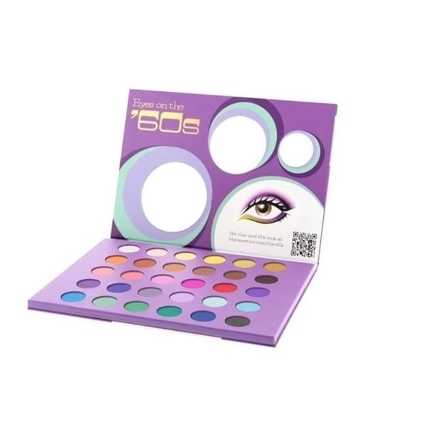 BH Cosmetics Eyes On The 60's Eyeshadow Palette