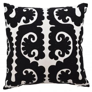 Garbo Damask Down and Feather Filled Throw Pillow