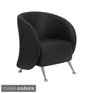 Offex Leather Reception Jet Chair