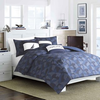 Nautica Pierson Cotton 3-piece Duvet Cover Set