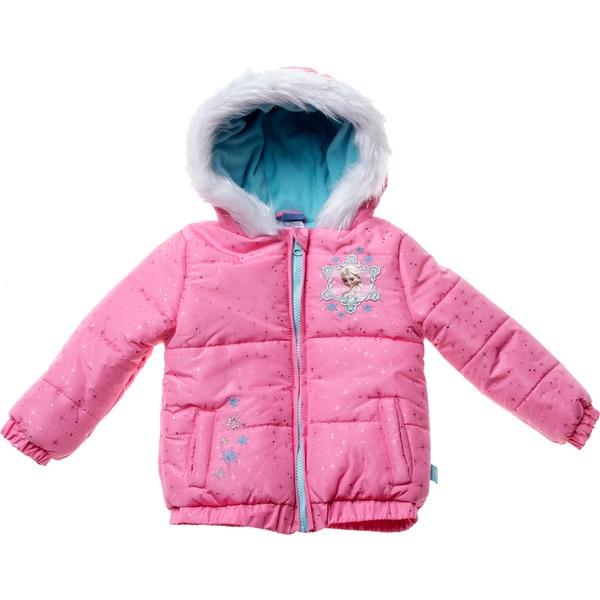 Disney Toddler Girls Disney's Frozen Heavyweight Jacket