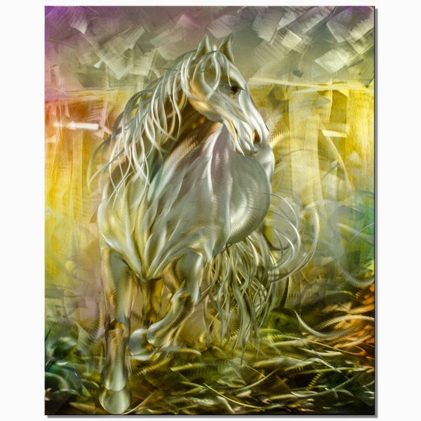 Metal Artscape The Stallion Metal Wall Art 14626765