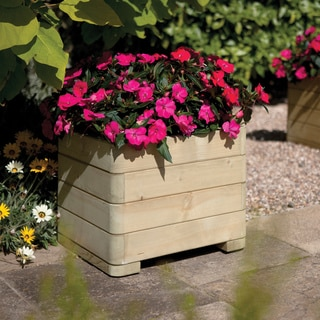 English Garden Woode Square Planter