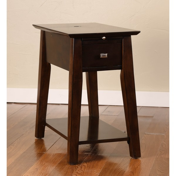 Christopher Knight Home Power Table with Java Finish