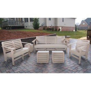 Eagle One Commercial-grade Greenwood Berlin 6-piece Lounge Set