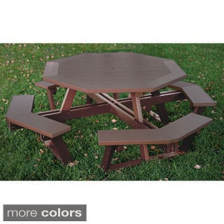 Eagle One Commercial-grade Greenwood Octagon Picnic Table