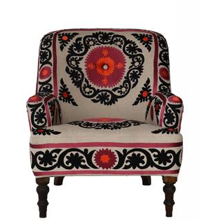 Bella Embroided Armchair