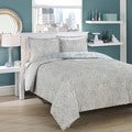 City Loft Ovaloid Cotton Reversible 3-piece Comforter Set