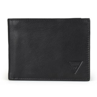 Guess Men's Genuine Leather Bifold Wallet