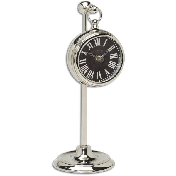 Uttermost Nickel Pocket Watch