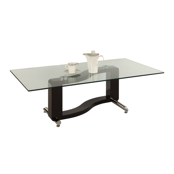 Somette Rectangular Modern Cocktail Table Overstock Shopping Great