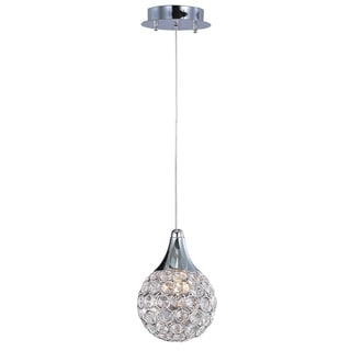 Chrome One-light Xenon Brilliant Mini Pendant