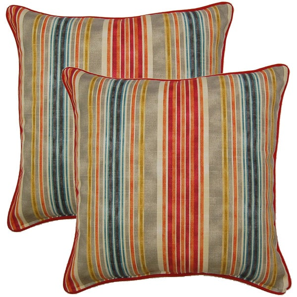 One Way Fog 17-inch Throw Pillows (Set of 2)
