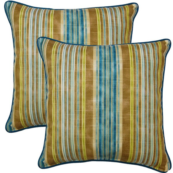 One Way Lagoon 17-inch Throw Pillows (Set of 2)