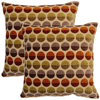 Circus Horizon 17-inch Throw Pillows (Set of 2)