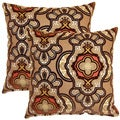 Vouray Mink 17-inch Throw Pillows (Set of 2)
